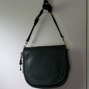 Fossil green purse